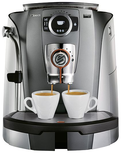 Coffee maker with steel carafe