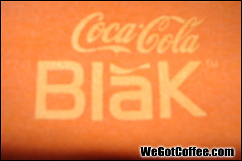 Rare CokeBlak Copper Colored Shirt