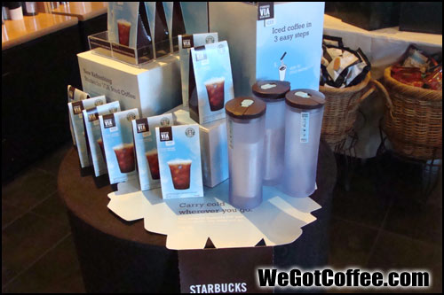 Starbucks VIA Iced Marketing Images