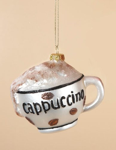 Cappuccino Christmas Ornament