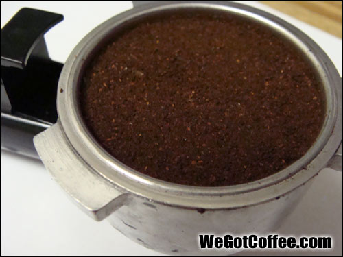 Picture of Properly Tamped Espresso
