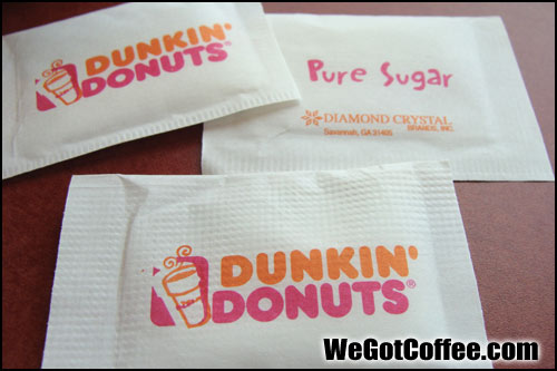 Coffee Sugar Packets