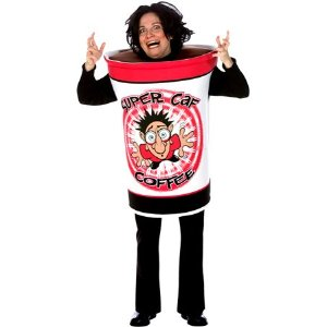Coffee Cup Costume For Halloween Get Dressed Up As A