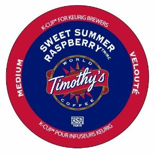 Timothy's Brand Raspberry Coffee K-Cups