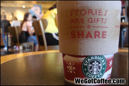 Starbucks Holiday Coffee Sleeves