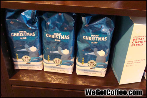 Starbucks Christmas Decaf Bags