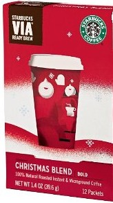 Starbucks Christmas Blend VIA