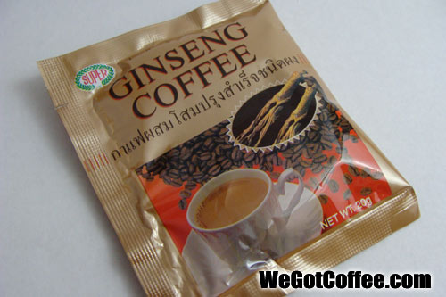Super Instant Ginseng Coffee