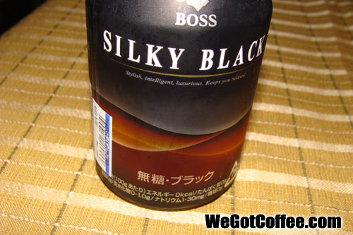 Silky Black – Boss Coffee