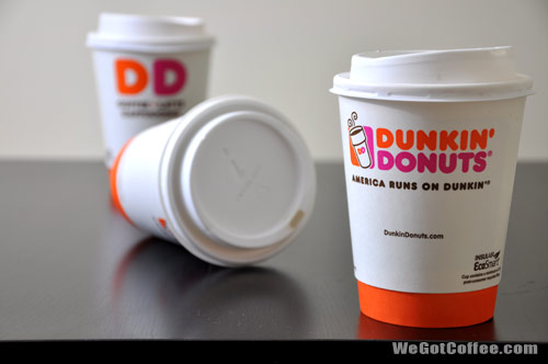 Dunkin Donuts Paper Cups
