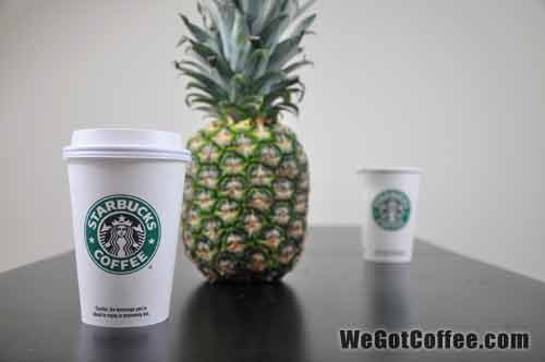 Starbucks with a Pineapple