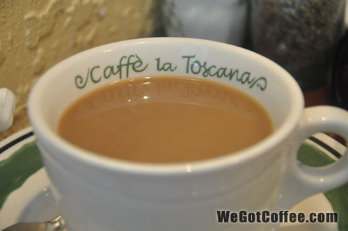 Brand of Coffee Served at Olive Garden