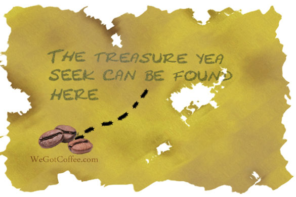 Coffee Treasure Map