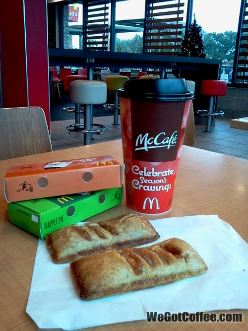 McCafe and Pumpkin Pie