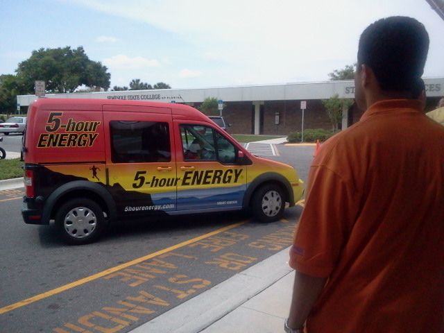 5-Hour Energy Car