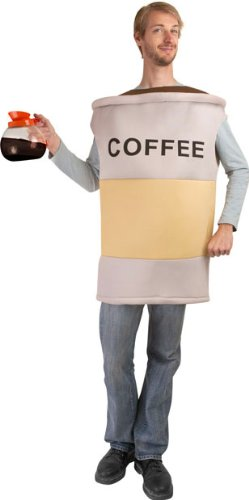 Men's Coffee Cup Costume