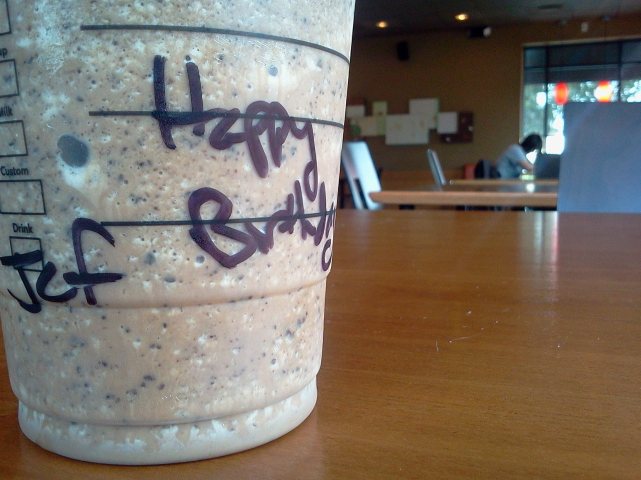 Getting Free Starbucks On Your Birthday