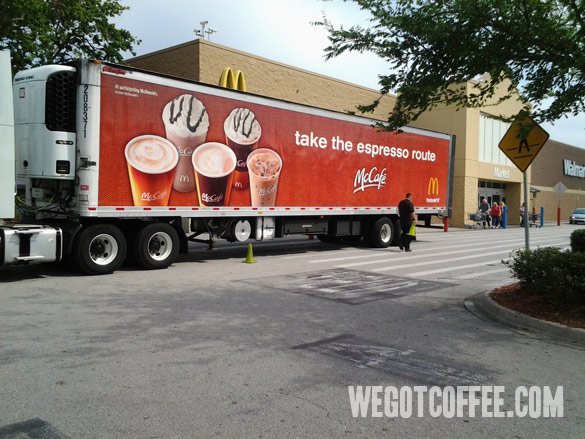 McCafe – Take The Espresso Route Truck