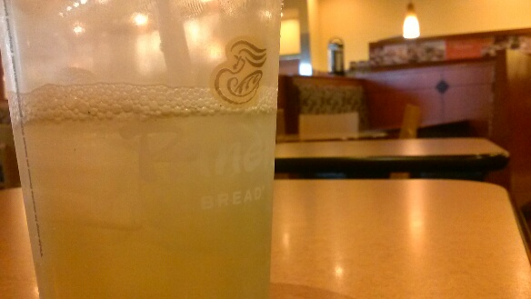 The Iced Green Tea from Panera Bread