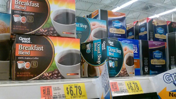 The Price of Walmart Brand K Cups