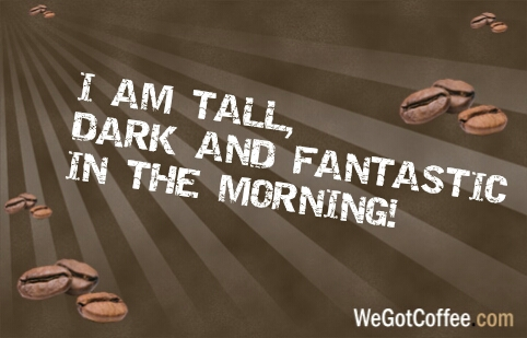 Tall Dark and Fantastic in the Morning