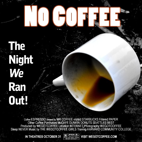 The Coffee Movie Poster Design