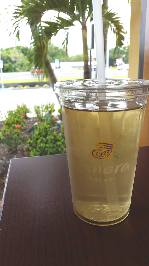 Panera Bread Ice Tea