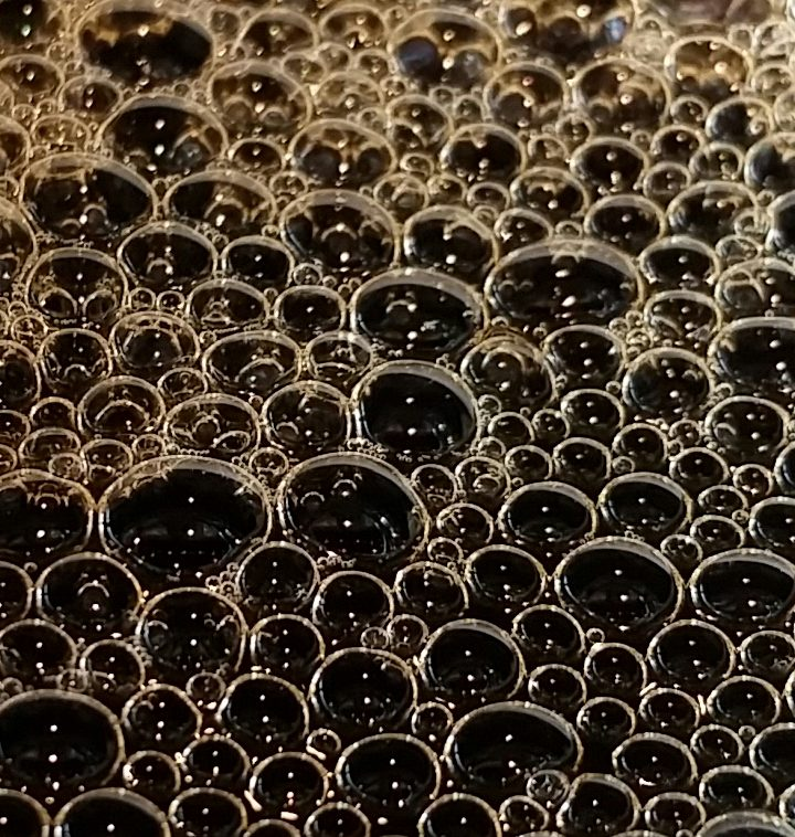 Coffee Bubbles at Starbucks
