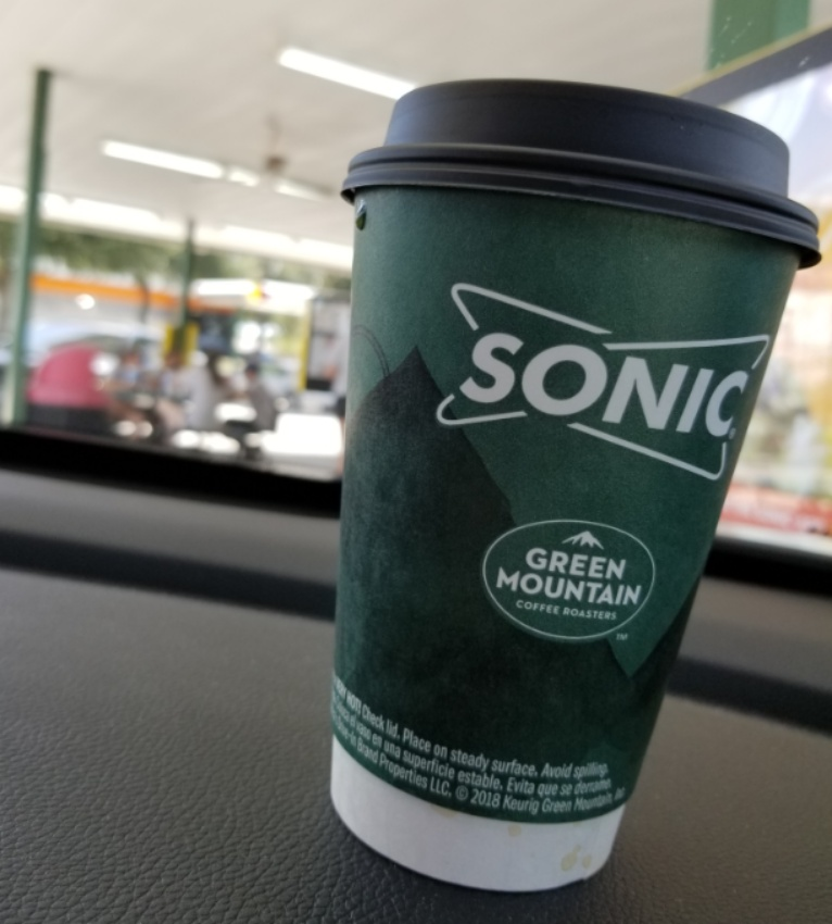 Sonic Coffee Cup Design 2019