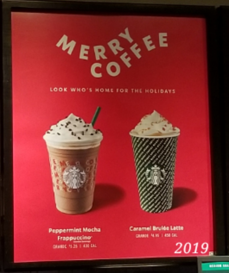Merry Coffee Starbucks