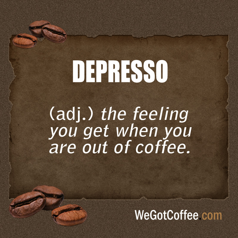 Depresso Meaning